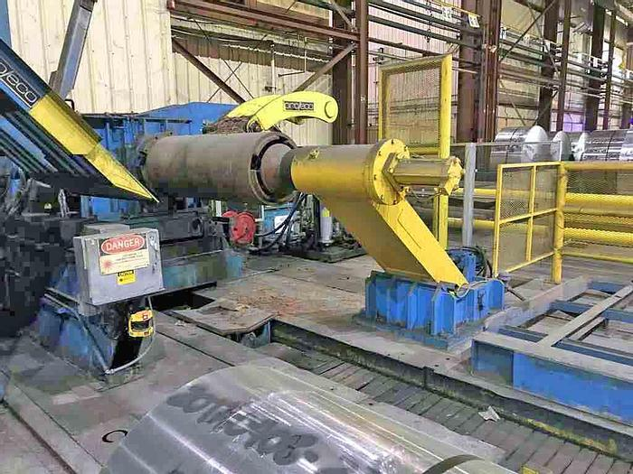 """Used 62"""" Pro Eco Aluminum Tension Leveling Line: TLL-204"""