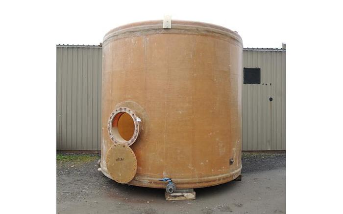 Used USED 8460 GALLON TANK, FIBERGLASS