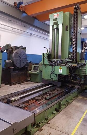 Usato ALESATRICE A MONTANTE MOBILE BERARDI MCTC 120S CNC  BERARDI