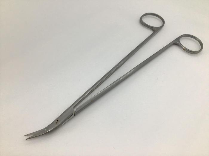 Used Codman Scissor Cardiovascular Diethrich Angle on Side 25 Degree 180mm (7in)