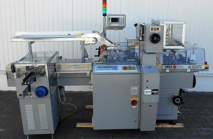 Used N 12865 D - Cartoner IMA ZANASI K 150/C for Tubes