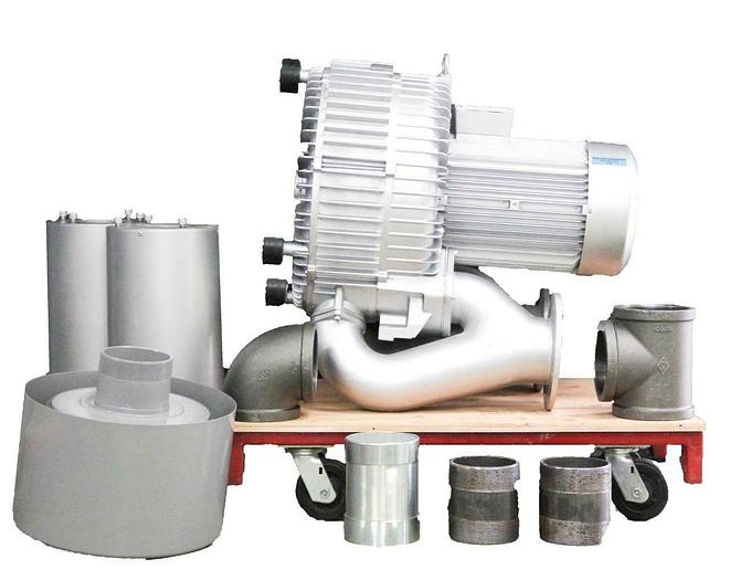 Atlantic Blowers AB-2102 ABPK-2102 Regenerative Blower w/ Pressure Kit NEW 6949