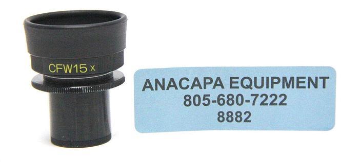 Used Nikon MBJ10150 CFW15X  Microscope Eyepiece (8882)W