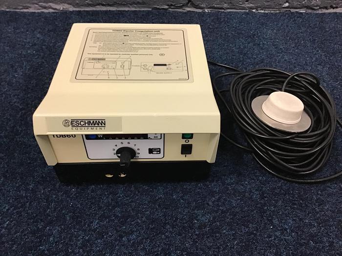Used Diathermy Eschmann Bipolar TDB60