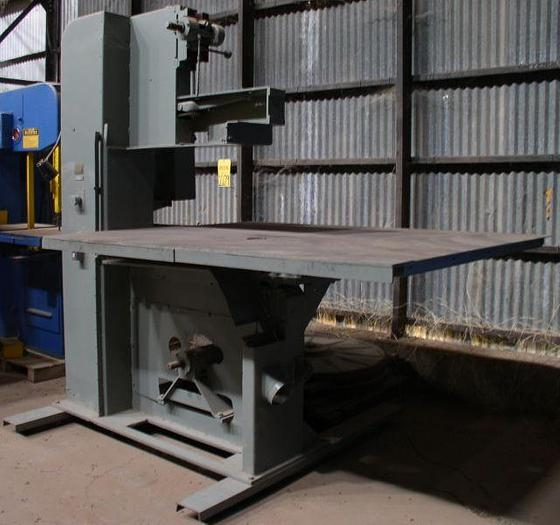 "42"" Tannewitz Model R1NE Vertical Band Saw with Oversized Table; S/N 72140"