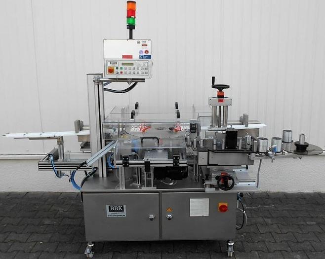 Used M 14430 D - Labeller BBK Rapid SM for Syringes