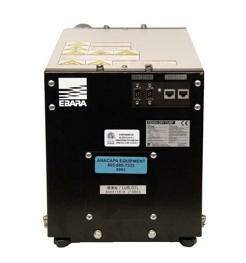 Used Ebara Dry Pump EV-S20P Vacuum Pump 1670L/min FOR PARTS (8993)R