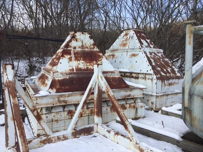 Used Large Heavy Duty Charging Hoppers