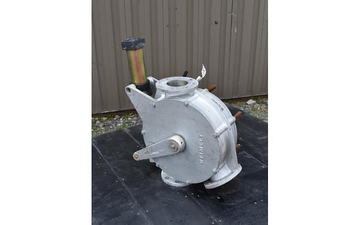 USED 4'' TWO WAY DIVERTER VALVE, SANITARY