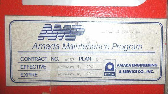 Amada Aries 245 CNC Turret Punch Press 20 Ton PRICED TO SELL
