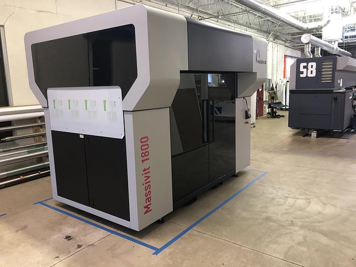 Used 2019 Massivit 3D 1800 Pro