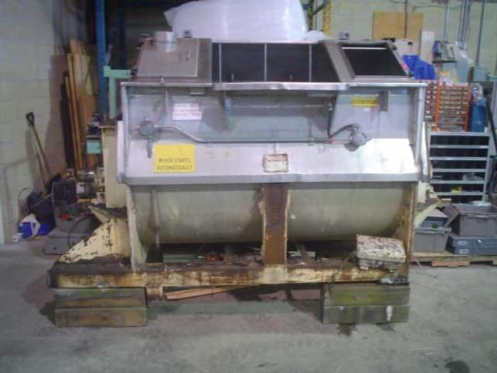 Used 50 cuft  Toronto Ribbon Blender SS