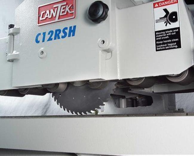 "Cantek C12RSH 12"" Glue Line Rip Saw"