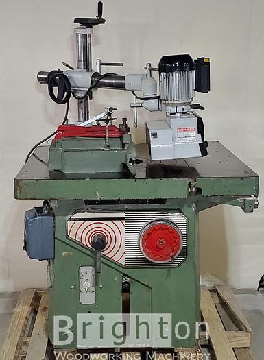 Used Steton Stema, Used Shaper, c/w Sliding table