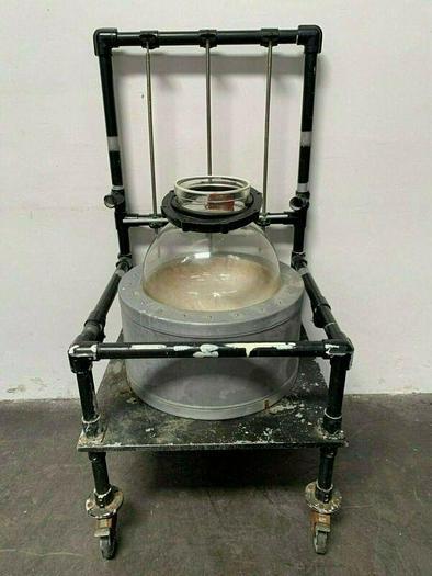 Used Glas-Col 102B 50 L Heating Mantle w/ 50 Liter Round Glass w/ Drain