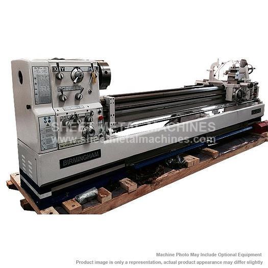 "BIRMINGHAM Precision Gap Bed Lathe YCL-2080 20"" x 80"""