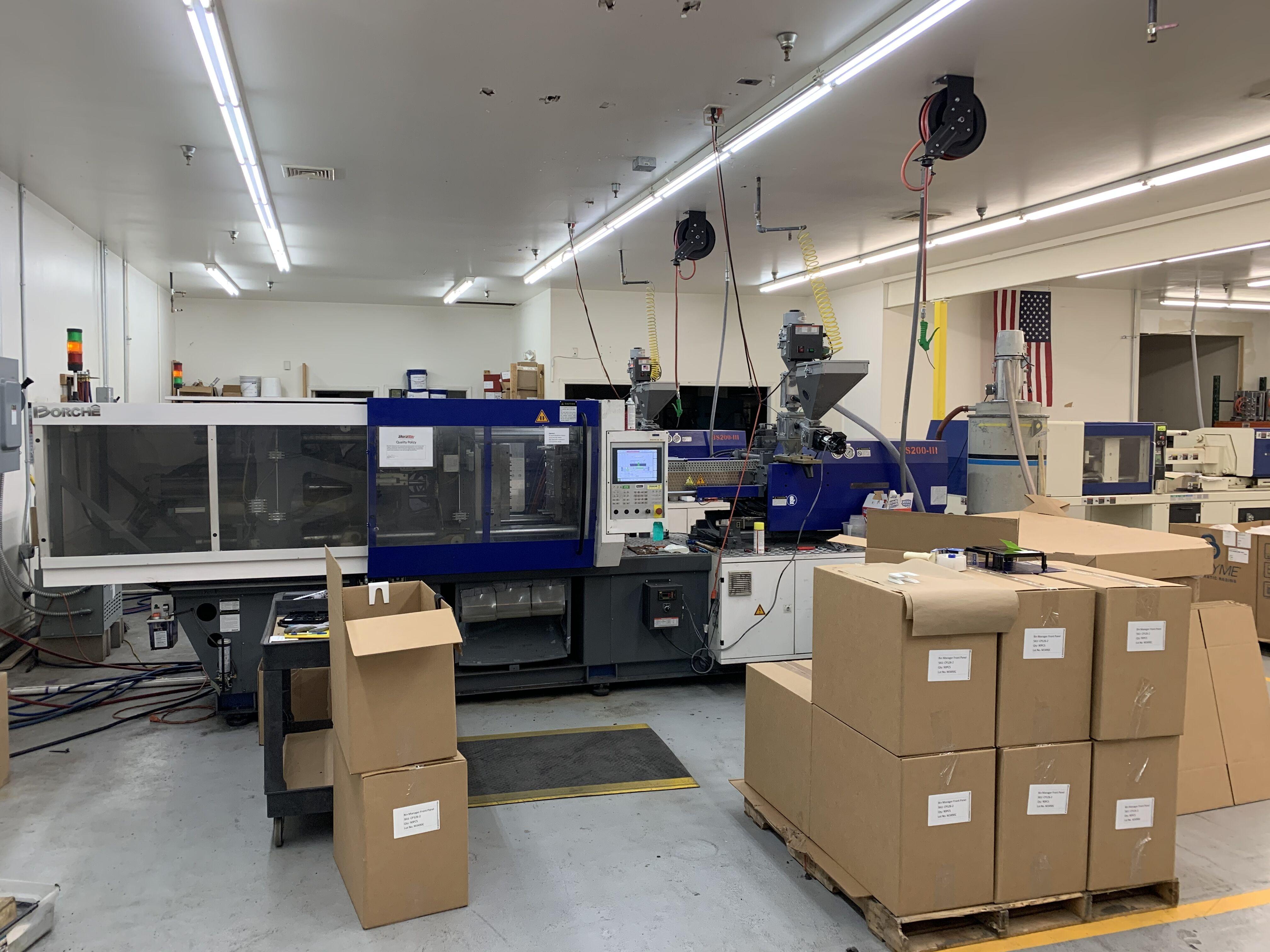 2016 Borche 220 ton Hybrid Electric injection molding machine BS200