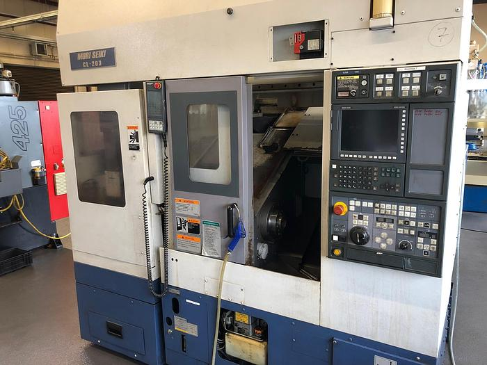 Gebraucht 2000 CNC Drehmaschine MORI SEIKI CL-203B