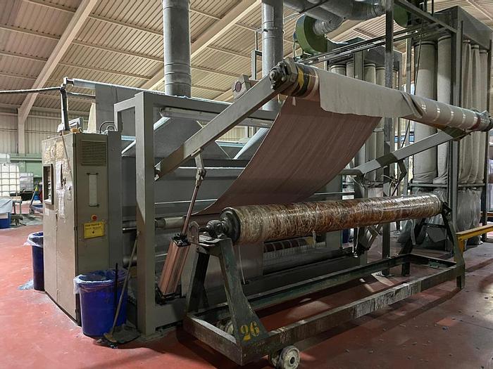 Used Sueding machine LISA  2000  3200 mm