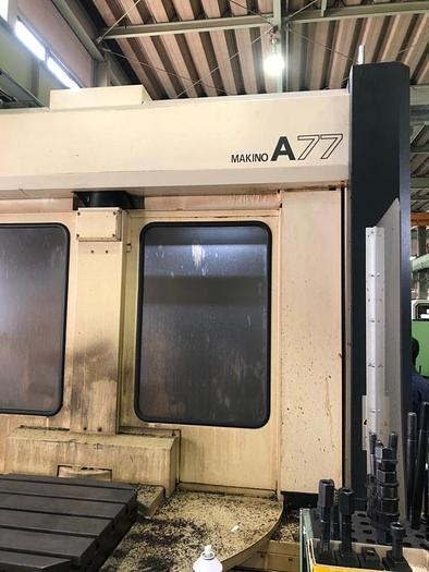 Used Used MAKINO A77 Horizontal Machine Center