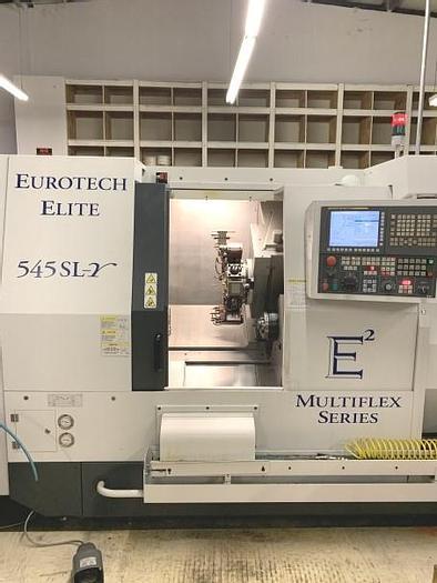 Used 3127, Eurotech, Elite 545 SL-Y, CNC Turning Machine, 2013