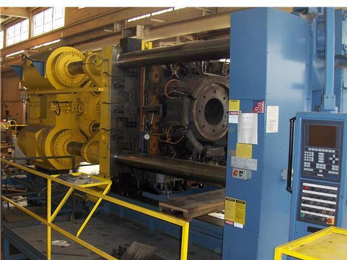 2,000 Ton ENGEL Extrusion Press; Horizontal Hydraulic Type; MFG: 1995