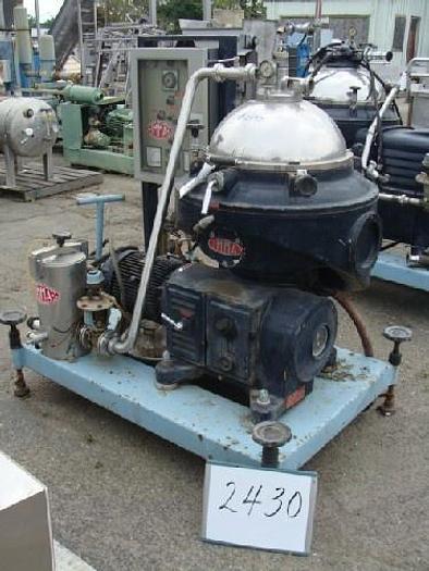 Used Media IMMA Centrifuge / Separator