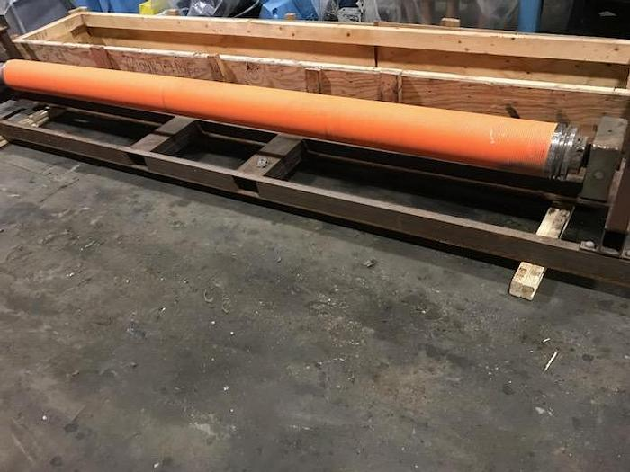 "Used BOWED ROLL 7"" (179MM) DIA. X 120"" (3.04M) FACE"