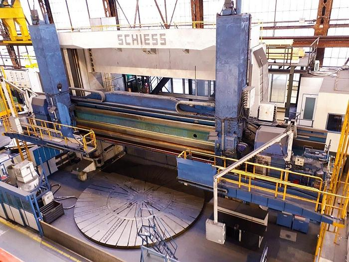 Used SCHIESS 25GK 800/1000
