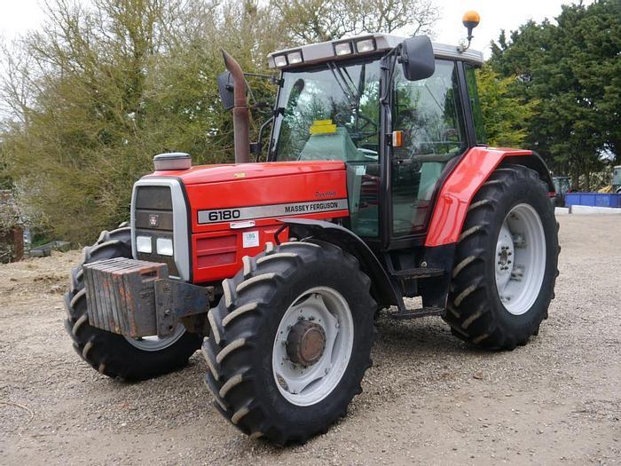 Used Massey Ferguson 6180 4wd Tractor