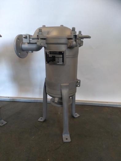 Gebraucht Hochleistungs-Beutelfilter Gehäuse TBF-0101-AD10-050D, Hayward, überholt