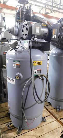 Used 2020 Gardner Denver 5 HP Reciprocating Air Compressor Reward Series