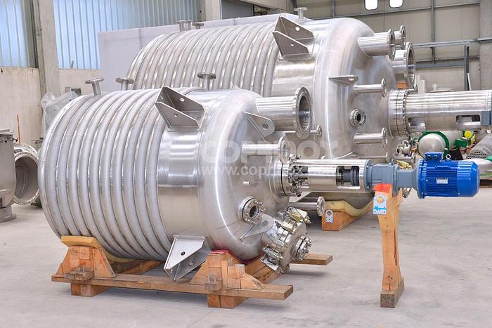 Reattore COPRINOX da 2.800 Litri