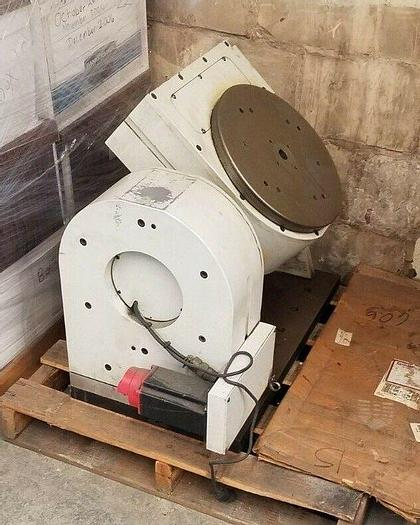 """Used 14"""" CNC Multi Axis Rotary Table Gimbal Multi Angle Machining Mill Chuck"""