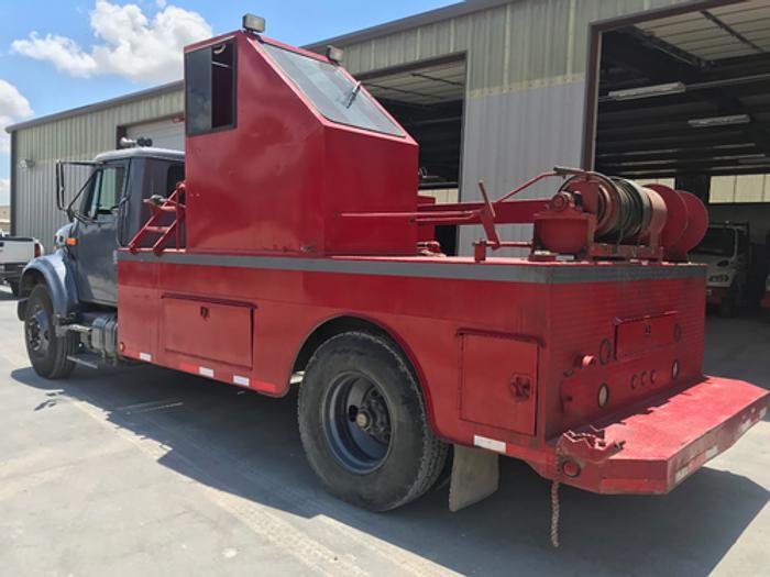 1991 International Tubing Test Truck