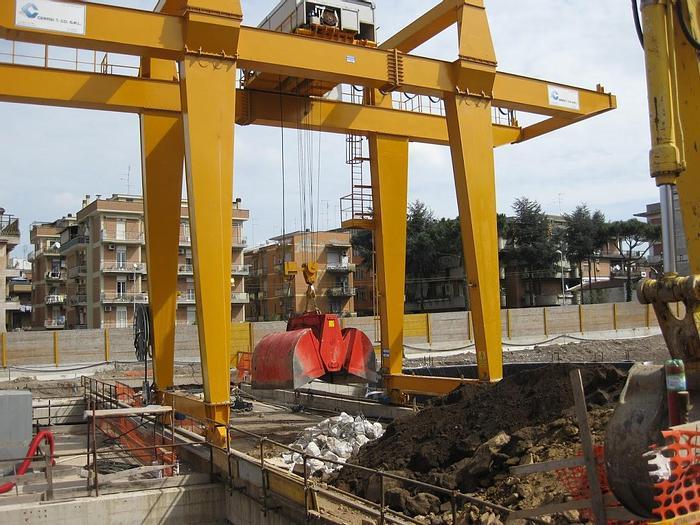 Usata 2009 Gru a Portale (cavalletto), CERASI & CO MS/GC/SC11000/PT30
