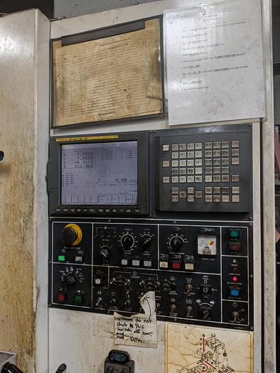 2001 Daewoo DMH-400 CNC Horizontal Machining Center