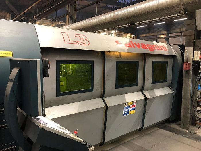 Usato Laser fibra  SALVAGNINI  L3
