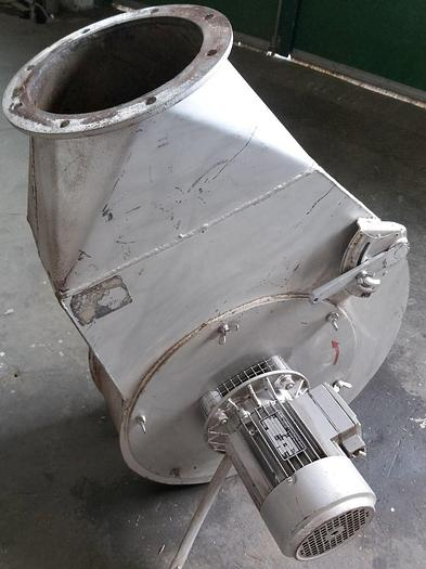 Gebraucht Abluftventilator (Rotationsstaubabscheider), 400/230V, 0,55KW, Conrad & Co,  gebraucht