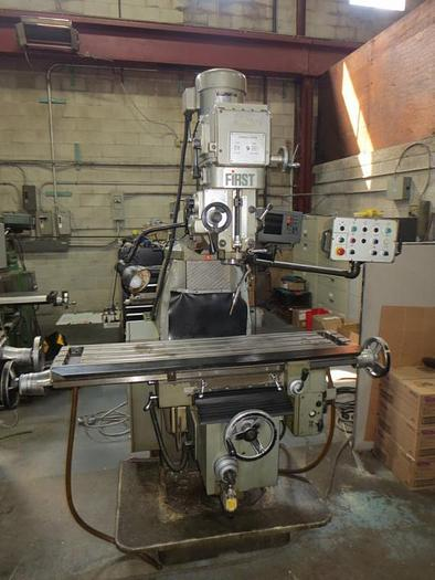 "10"" X 50"", FIRST, LC20-VSG, VERTICAL MILLING MACHINE"