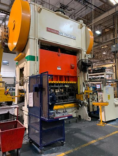 "600 ton Niagara 96""x42"" SSDC Stamping Press"