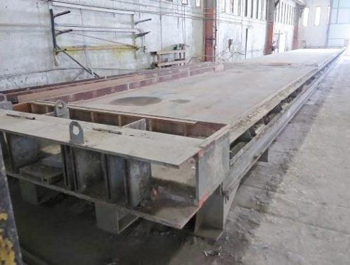 Used Helser 14′ Self Stressing Precast Pouring Bed/Table
