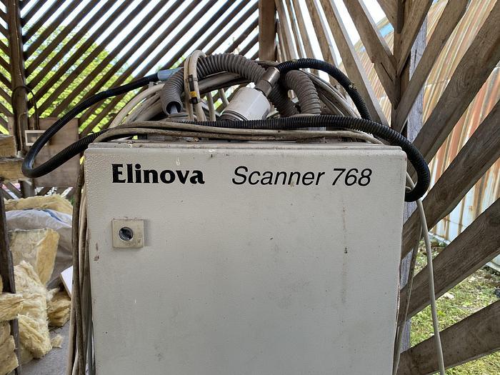Used Elinova 768, Log scanner