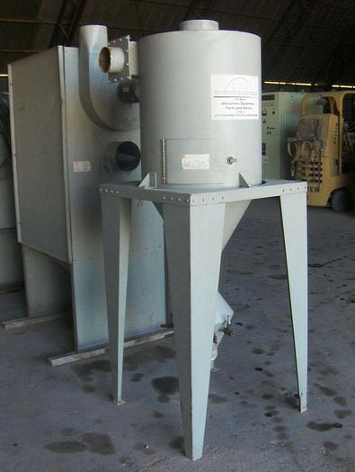 Blast-It-All Mdl. TBS-3 Barrel Blast Machine; 3 cu. ft. Capacity