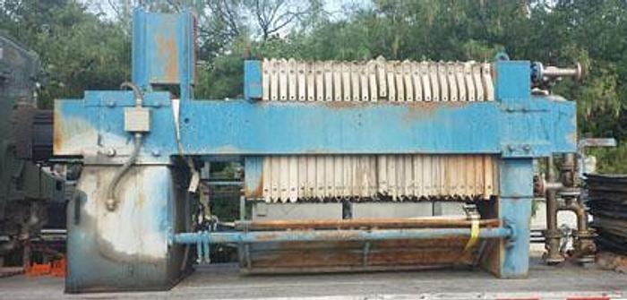 Used FP-42: Used 21 cu ft Filter Press