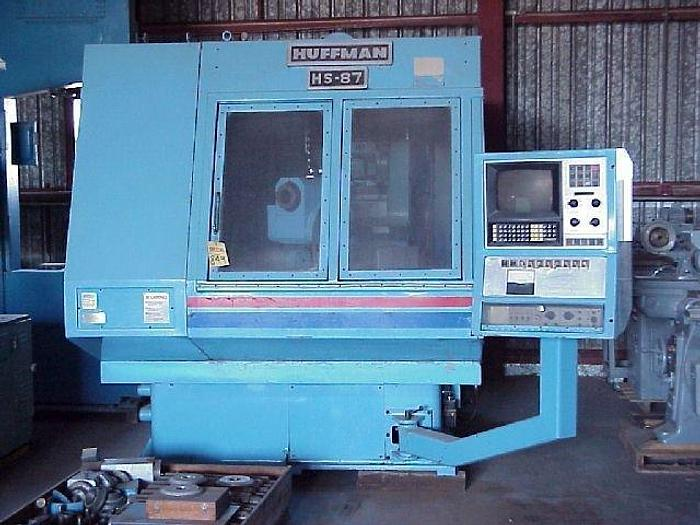 Used Huffman Model HS87R Tool & Cutter Grinder; Allen Bradley 7320 CNC; 7-Axis; 1984