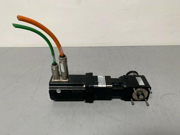 Used Berger Lahr SER397/4L7SS0CO Inverter-Duty Motor W/ GTC Gearbox & VGM Servo Motor