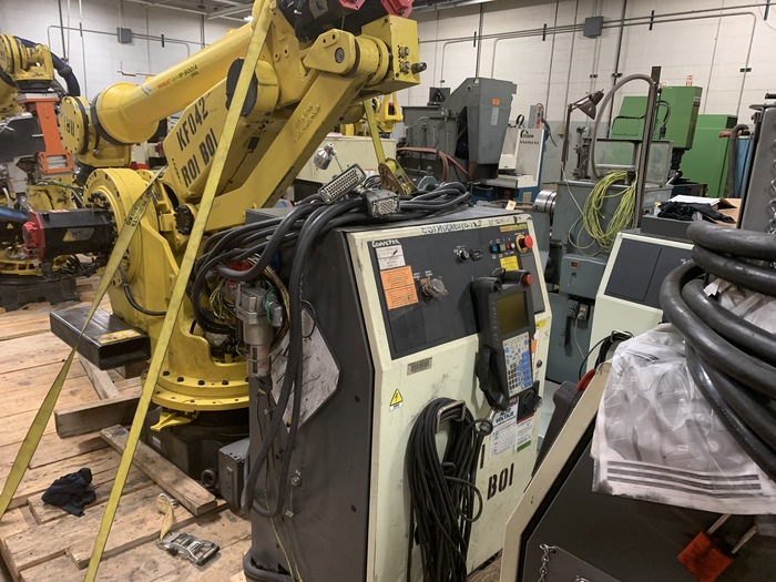 FANUC M900iA/260L 260KG X 3100MM REACH 6 AXIS CNC ROBOT WITH R30iA CONTROLLER