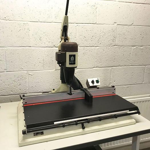 Used Pre-owned OMM Concorde 92 Wide-Format Electric Paper Drill