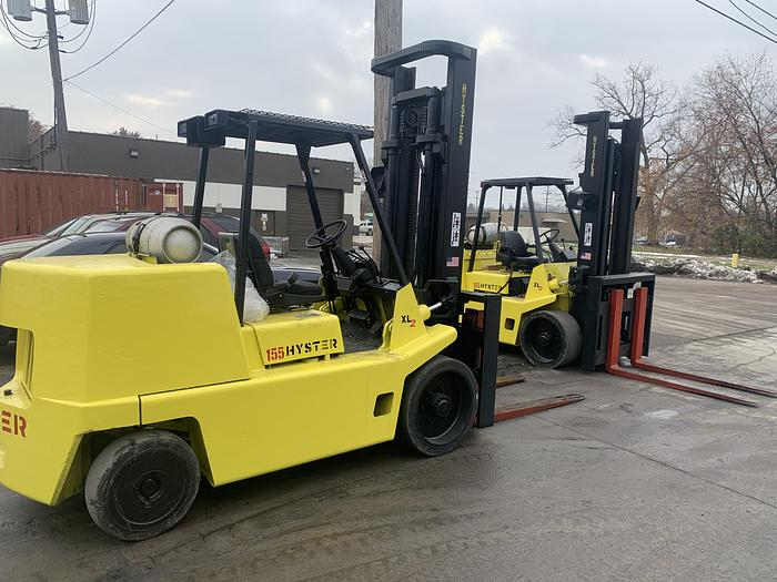 Used 15,500 lbs. Hyster LP Forklift